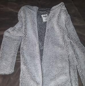 VS Pink Sherpa jacket